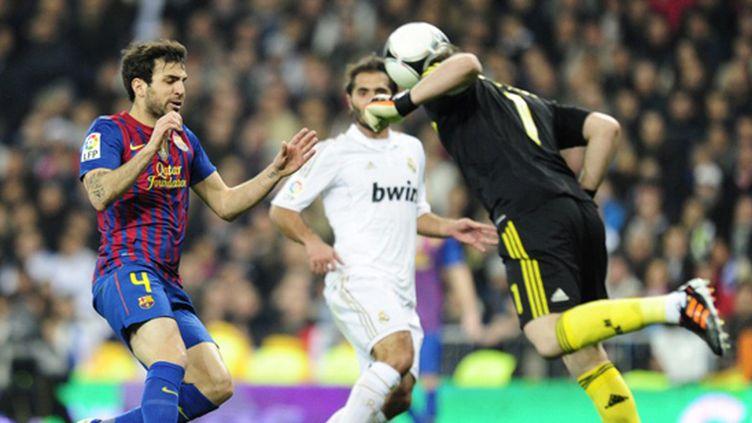 Casillas met la tête (JAVIER SORIANO / AFP)