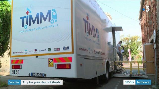 Covid-19 : un camion itinérant pour vacciner les populations des zones rurale