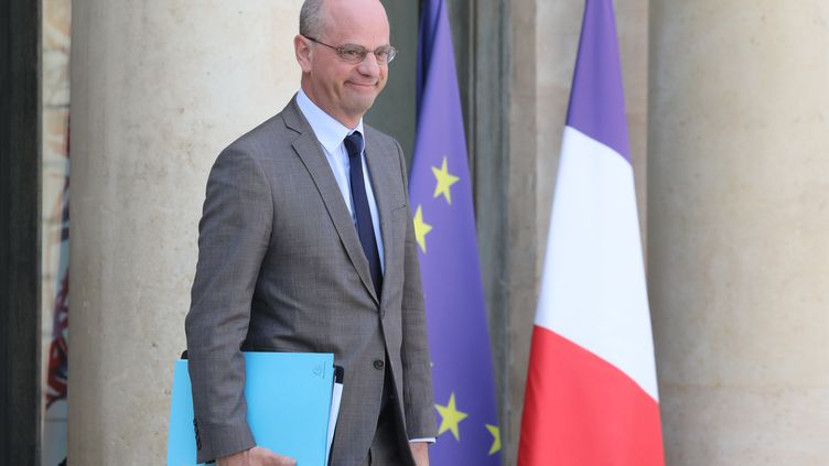 Le ministre de l'Éducation Jean-Michel Blanquer, le 24 avril 2019. (LUDOVIC MARIN / AFP)