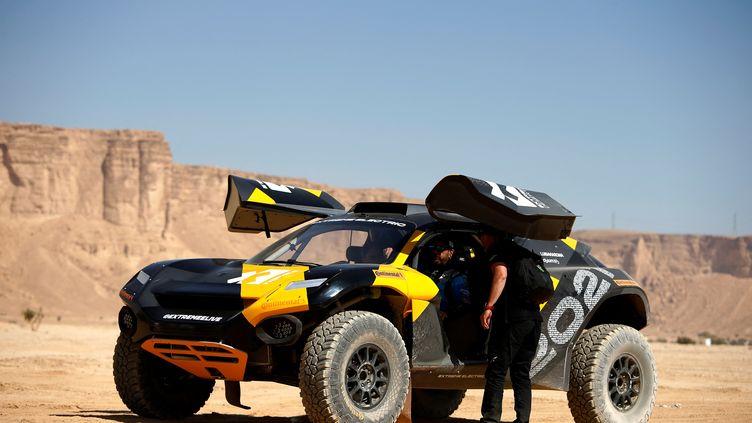 L'Extreme E est une nouvelle course de SUV électriques. (FRANCK FIFE / AFP)