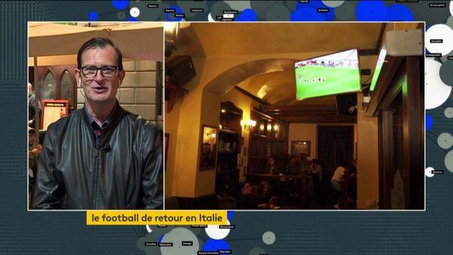 Le football de retour en Italie