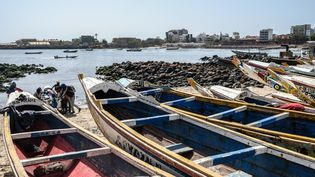 Port de pêche à Dakar, au Sénégal, le 26 mars 2020. (SADAK SOUICI / ANADOLU AGENCY)
