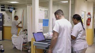 Hôpital d'Argenteuil (photo d'illustration). (ARNAUD DUMONTIER / MAXPPP)