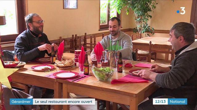 Vosges : un restaurant encore ouvert