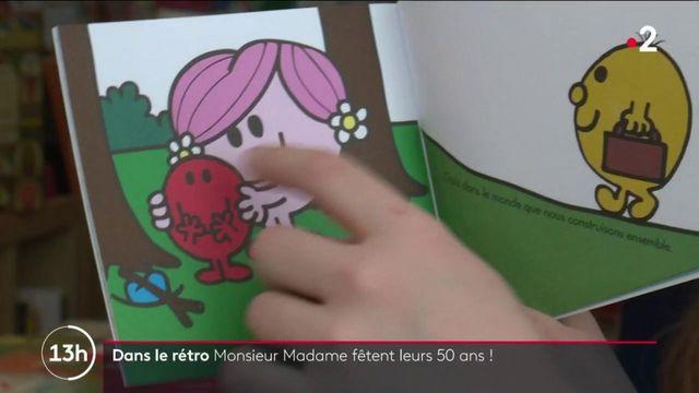 """Livres : la collection """"Monsieur Madame"""" fête ses 50 ans"""