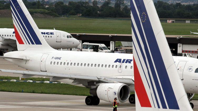 Des avions d'Air France à l'aéroport d'Orly (Val-de-Marne), le 20 juillet 2011. (MAXPPP)