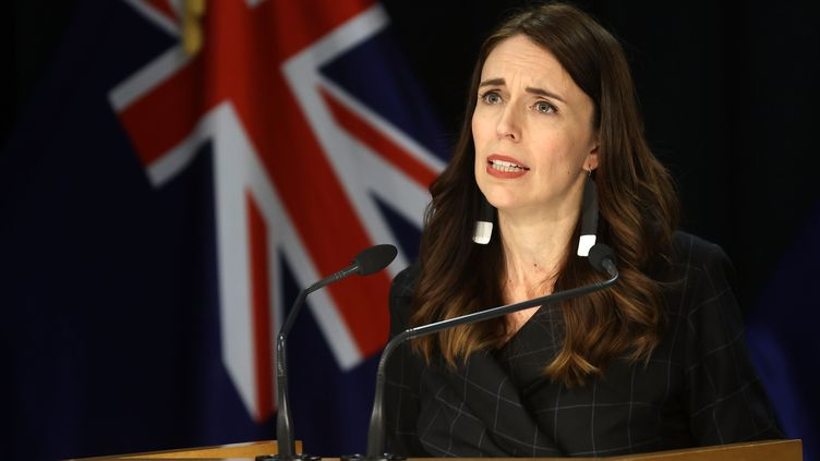 La Première ministre néo-zélandaise Jacinda Ardern le 30 novembre 2020 à Wellington (Nouvelle-Zélande) (MARTY MELVILLE / AFP)