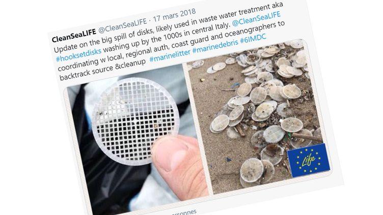 De nombreux filtres en plastique avaient été retrouvés notamment par l'ONGClean Sea Life. (ONG CLEAN SEA LIFE)