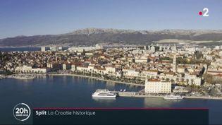 Split est la deuxième ville de Croatie, un cadre magnifique marqué par l'histoire. (FRANCEINFO)