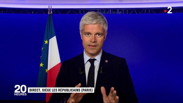 """Conférence d'Emmanuel Macron : Laurent Wauquiez craint que """"les cadeaux d'aujourd'hui"""" fassent """"les impôts de demain"""""""