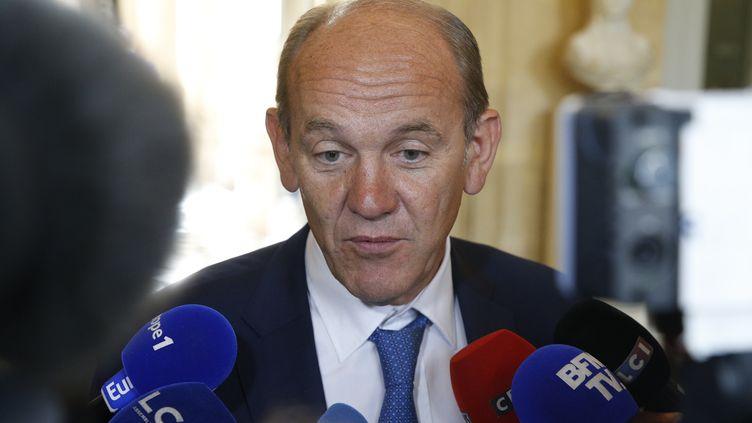 Daniel Fasquelle (LR) ) l'Assemblée nationale en juin 2017. (GEOFFROY VAN DER HASSELT / AFP)