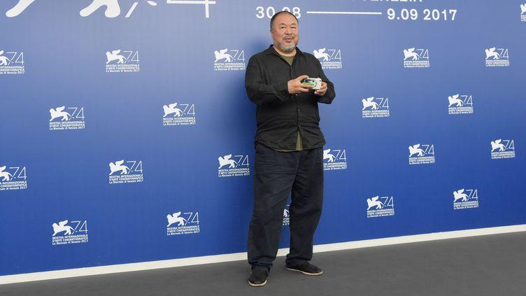 Ai Weiwei, Mostra de Venise, 1er septembre 2017  (TIZIANA FABI / AFP)
