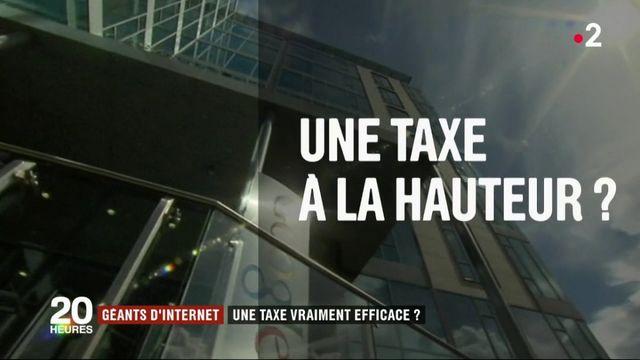 Géants d'internet : une taxe vraiment efficace ?