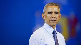Le président des Etats-Unis Barack Obama àMilwaukee (Wisconsin), le 4 novembre 2014. (DARREN HAUCK / GETTY IMAGES NORTH AMERICA / AFP)