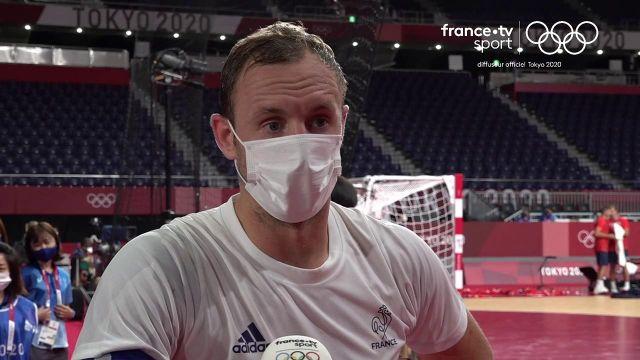 Déjà qualifiés pour les quarts de finale du tournoi, les Français s'inclinent face à une équipe norvégienne plus réaliste (29-32). Découvrez la réaction du capitaine de l'équipe de France, Valentin Porte.