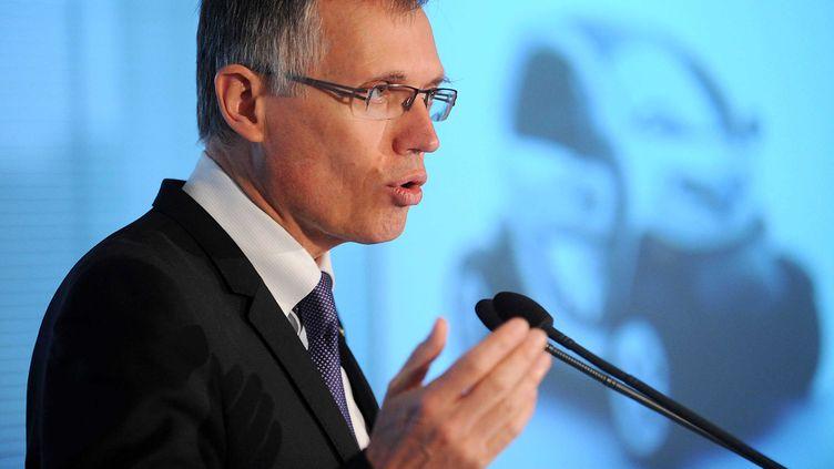Carlos Tavares, ex-numéro deux de Renault etfutur patron de PSA Peugeot Citroën, le 27 juillet 2012 à Paris. (ANTONIOL ANTOINE / SIPA)