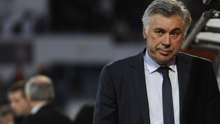 L'entraîneur italien Carlo Ancelotti