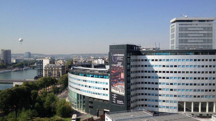 La Maison de la Radio, à Paris, le 27 juillet 2018. (ARIANE HERBAY / DIR MUSIQUE)