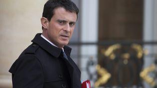 Manuel Valls, le 14 novembre 2015. (IAN LANGSDON / EPA)