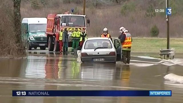 Inondations : les cours d'eau sous surveillance en Gironde