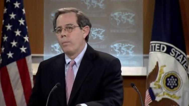 Le secrétaire d'Etat américain Stuart Jones. (FRANCEINFO)