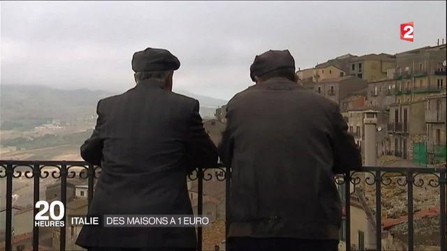 Italie : des maisons à un euro