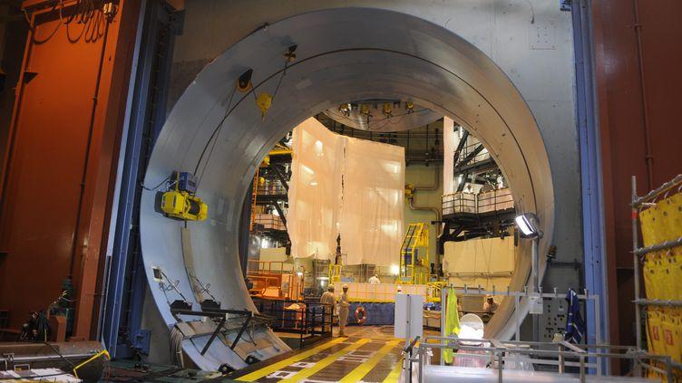 Une opération de maintenance à la centrale nucléaire de Civaux (Vienne), le 19 septembre 2014 (illustration). (PLAVAUD / MAXPPP)