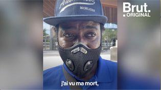 """VIDEO. """"J'ai vu ma mort"""", témoigne ce livreur3 semaines après son agression (BRUT)"""