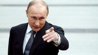 Vladmir Poutine, à Moscou (Russie), le 14 avril 2016. (MAXIM SHEMETOV / REUTERS)