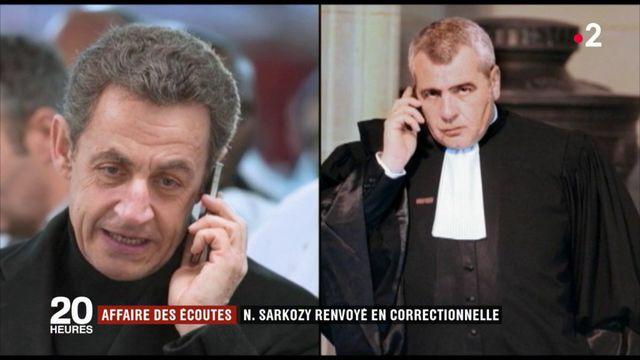 Affaires des écoutes : Nicolas Sarkozy renvoyé en correctionnelle