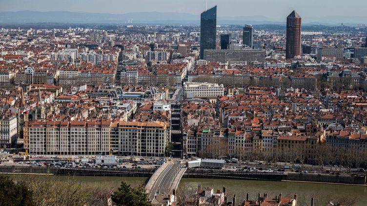 Lyon, le 17 mars 2020. (JEFF PACHOUD / AFP)
