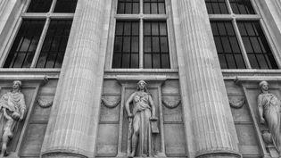 Le Palais de justice de Paris où se tient le procès du 13-Novembre, photographié par David Fritz-Goeppinger,qui fait partie des victimes duBataclan. (DAVID FRITZ-GOEPPINGER POUR FRANCEINFO)