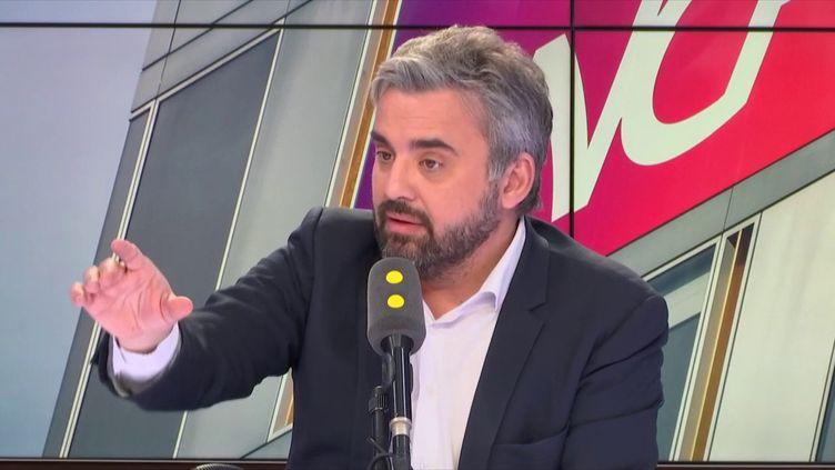 Le député de Seine-Saint-Denis, Alexis Corbière, était l'invité de franceinfo. (FRANCEINFO / RADIOFRANCE)