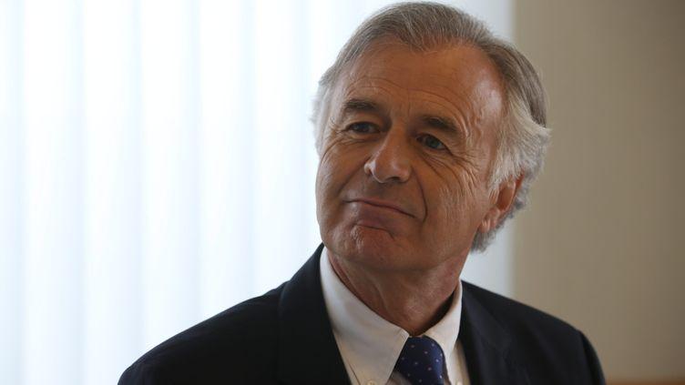 Le directeur généralde Safran, Philippe Petit Colin, à Paris, en juin 2015. (LEJEUNE / MAXPPP)