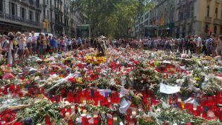 La marche de Barcelone, prévue samedi à 18h, rendra hommage aux victimes de l'attentat sur les Ramblas et à ceux qui se sont portés à leur secours. (RADIO FRANCE / BENJAMIN ILLY)