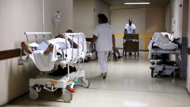 A l'hôpital de Fort-au-France (Martinique) (AFP - PATRICE COPPEE)