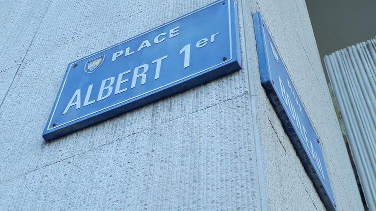 La place Albert 1er à La Roche-sur-Yon. (ANTOINE DENECHERE/RADIO FRANCE)