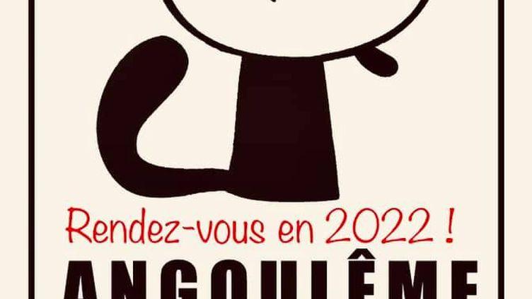 L'affiche de report du festival international de la bande dessinée d'Angoulême diffusée sur la page Facebook du maire de la ville. (© FIBD ANGOULÊME)