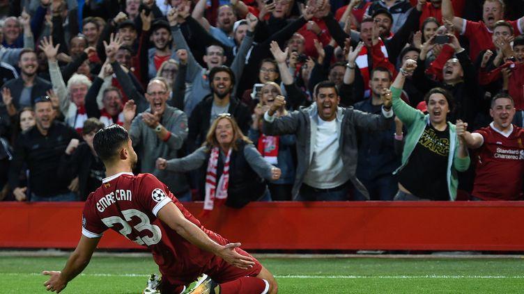 Emre Can libère les Reds (OLI SCARFF / AFP)