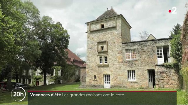 Vacances d'été : les grandes maisons ont la cote auprès des Français