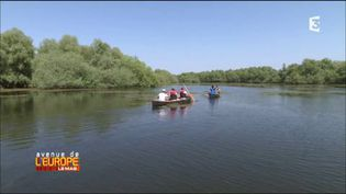 """Sur le delta du Danube, priorité au """"tourisme lent"""" (FRANCE 3 / FRANCETV INFO)"""