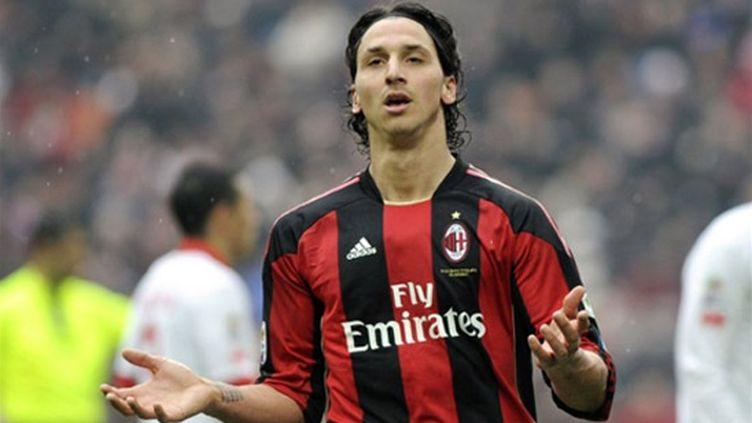Le Suédois du Milan AC Zlatan Ibrahimovic