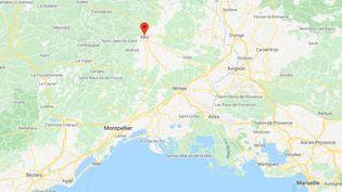 Alès (Gard). (GOOGLE MAPS)