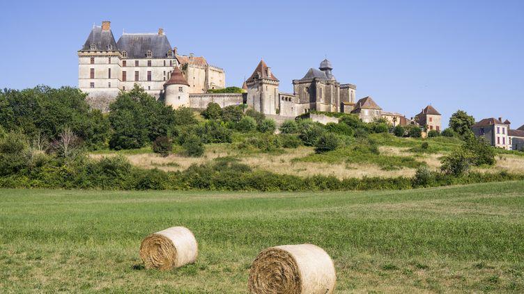 Le château de Biron, en Dordogne. (illustration) (BARRERE JEAN-MARC / HEMIS.FR / HEMIS.FR)