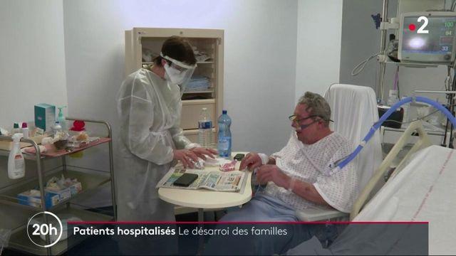 Covid-19 : le désarroi des familles privés de visites à leurs proches hospitalisés