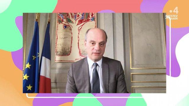 Blanquer répond aux enfants sur France 4