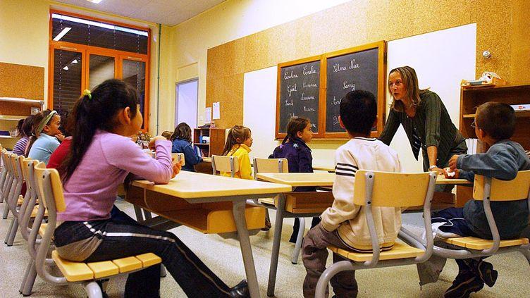 Le Snuipp, principal syndicat d'enseignants du primaire, parle d'une réussite, dans une enquête rendue publique lundi 25 juin. (PASCAL GEORGE / AFP)