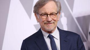 Steven Spielberg lors de l'académie des Awards à Los Angeles (Etats-Unis), le 5 février 2018. (MATT BARON / SHUTTERSTOCK / SIPA)