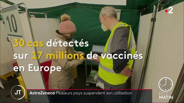 Irlande, Pays-Bas… ces pays qui suspendent l'utilisation du vaccin AstraZeneca