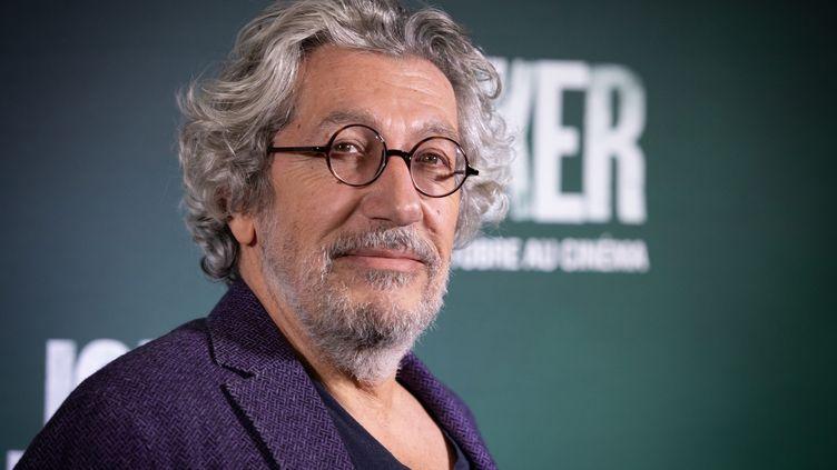 """Alain Chabat le 23 septembre 2019 à Paris, à l'avant-première du film """"Joker"""" (FRED DUGIT / MAXPPP)"""
